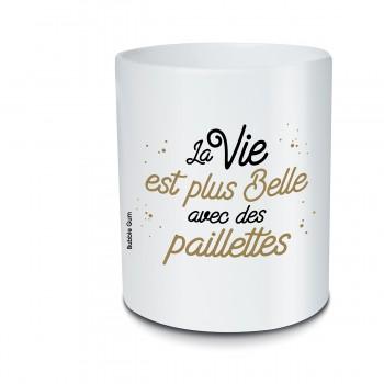 Pot crayon - La vie est...