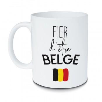 Mug Fier d'être belge