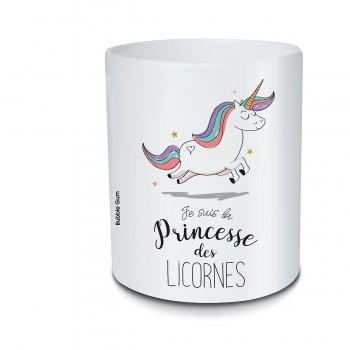 Pot crayon - Licorne Princesse