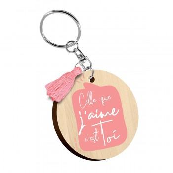 Porte clés imprimés - Celle...