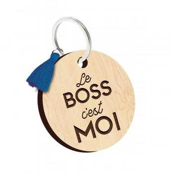 Porte clés - Le boss c'est moi