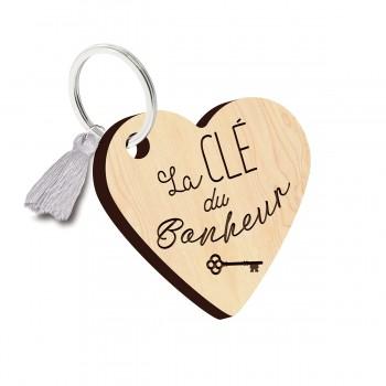Porte clés - La clé du bonheur