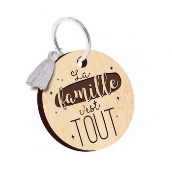 Porte clés - La famille...