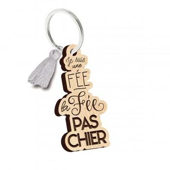 Porte clés - Je suis une fée