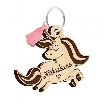 Porte clés - Licorne Fabuleuse
