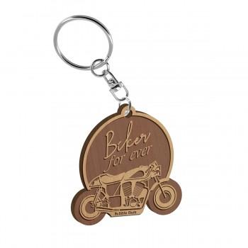 Porte clés - Biker forever