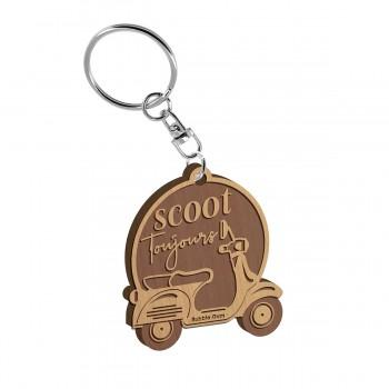 Porte clés - Scoot toujours