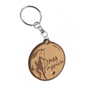 Porte clés - Cheval ma passion