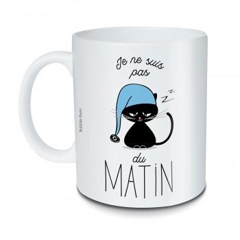 Mug Chat-Je ne suis pas du...