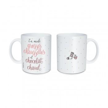 Mug Chaussettes et chocolat...