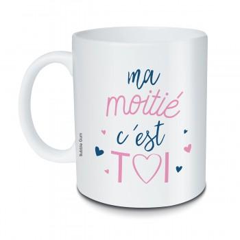 Mug Ma moitié c'est toi