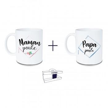 Coffret mug Maman poule +...