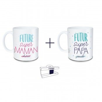 Coffret mug Future super...