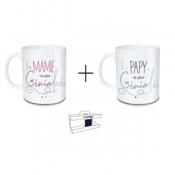 Coffret mug Mamie la plus...