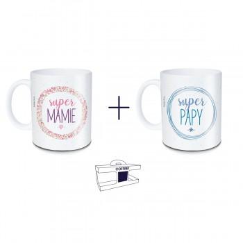 Coffret mug Super Mamie +...