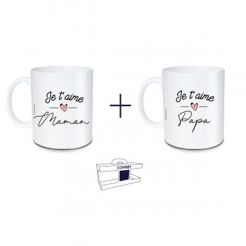 Coffret mug Je t'aime Maman...