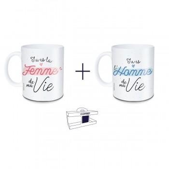 Coffret mug Femme de ma vie...