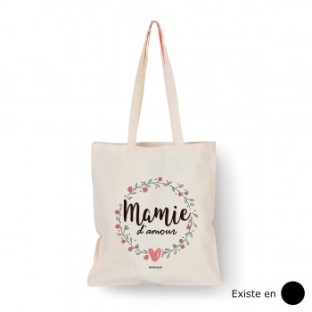 Tote bag Mamie d'amour
