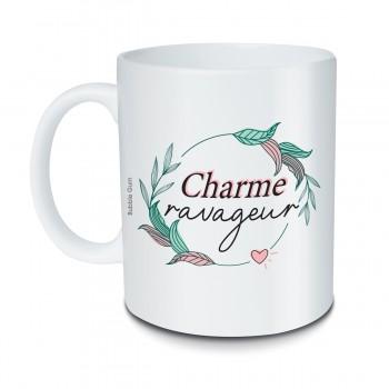 Mug Charme ravageur fleurs