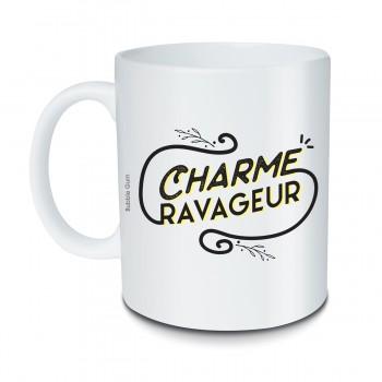 Mug Charme ravageur noir