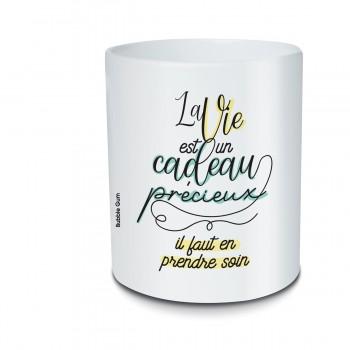 Pot crayon - La vie est un...