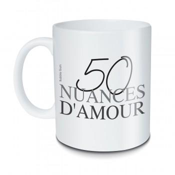 Mug 50 nuances d'amour