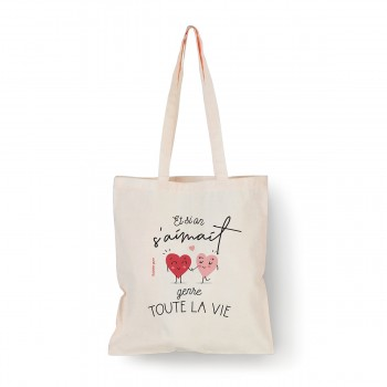Tote bag Et si on s'aimait...