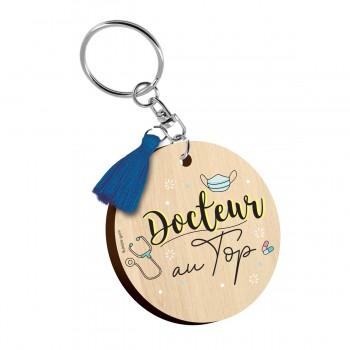 Porte clés - Docteur au top