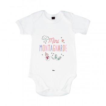 Body Blanc Mini Montagnarde