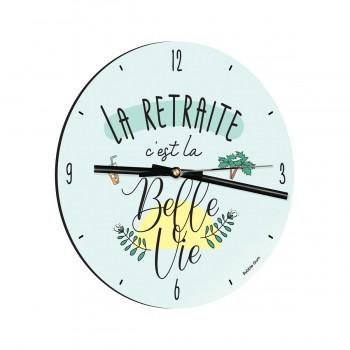 Horloge - La retraite c'est...