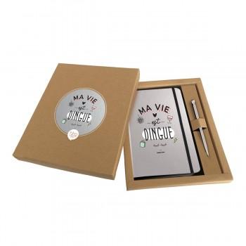 Coffret carnet A5 + stylo...