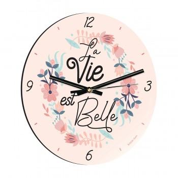 Horloge - La vie est belle