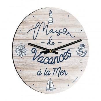 Horloge - Maison à la mer