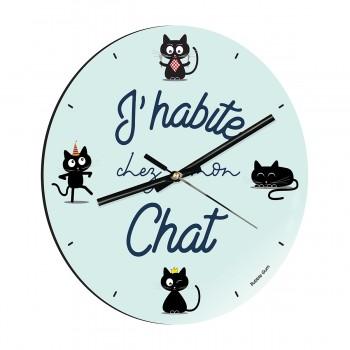 Horloge - J'habite chez mon...