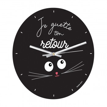 Horloge - Je guette ton retour