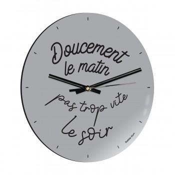 Horloge - Doucement le matin
