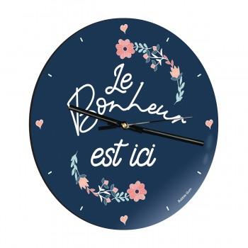 Horloge - Le bonheur est ici