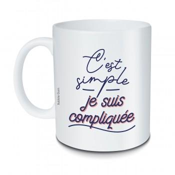 Mug C'est simple je suis...