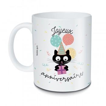 Mug Chat noir Joyeux...